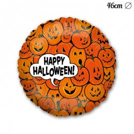 Ballon Happy Halloween Citrouille Mylar 46 cm