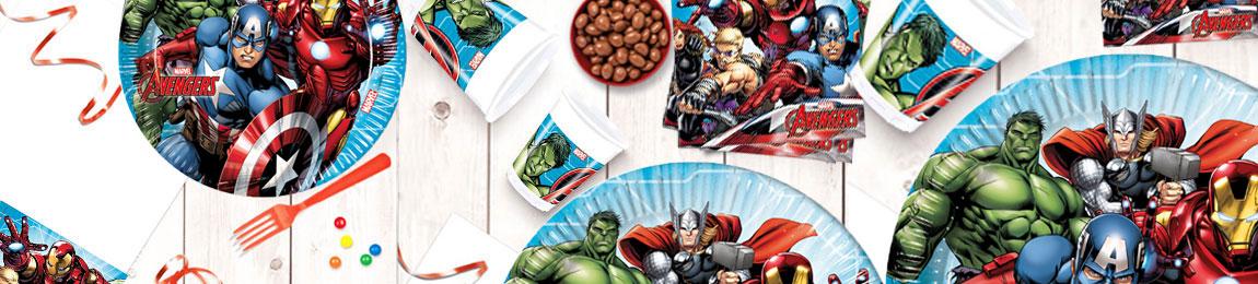 Anniversaire Avengers Articles De Fete Et Decoration Fetemix