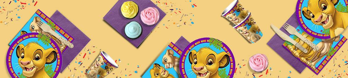 Anniversaire Le Roi Lion Fête à Thème Pour Enfant Articles Et
