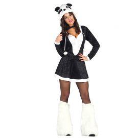 Déguisement de Panda pour Femme avec Capuche