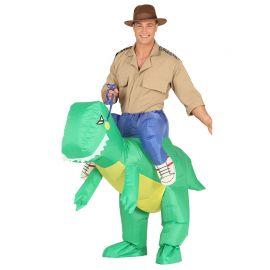 Déguisement de Dinosaure pour Adulte avec Ventilateur