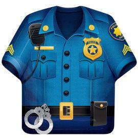 8 Assiettes Policier 23 cm