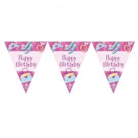 Pancarte Princesse Happy Birthday