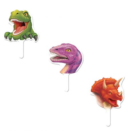 12 Toppers Dinosaures