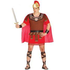 Déguisement de Centurion pour Homme avec Cape Rouge
