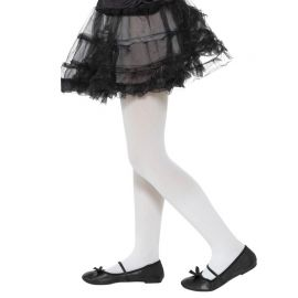 Collants Blancs pour Enfants Opaques