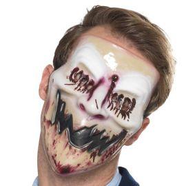 Masque de Sourire Ensanglanté pour Adultes