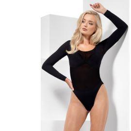 Body Opaque Noir pour Femme