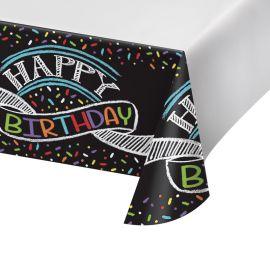 Mantel Chalk Birthday 259 x 137 cm