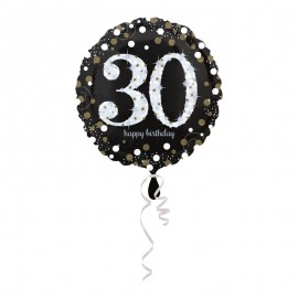 Ballon Mylar 30 Elegant 43 cm