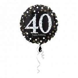 Ballon Mylar 40 Elegant 43 cm