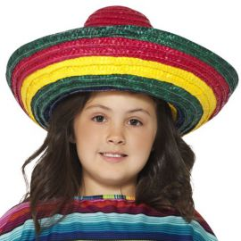 Sombrero Mexicain Multicolore