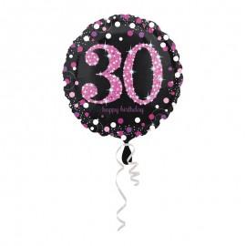 Ballon Mylar 30 Elegant Pink 43cm
