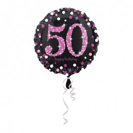 Ballon Mylar 50 Elegant Pink