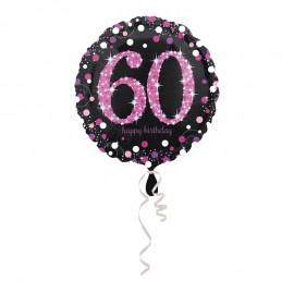 Ballon Mylar 60 Elegant Pink 43cm