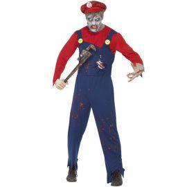 Déguisement Zombie Plombier pour Homme