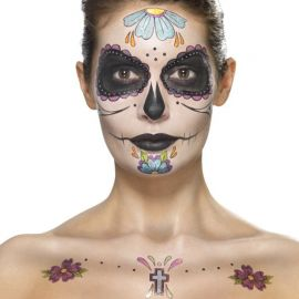 Calcomanias Catrina para la Cara