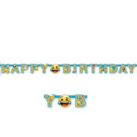 Guirlande Avec Emojis Happy Birthday
