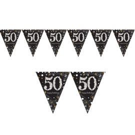 Drapeau 50 ans Chic