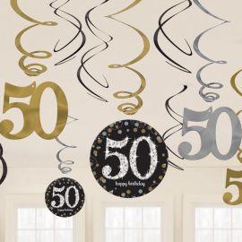 12 Pendentifs 50 Elegant
