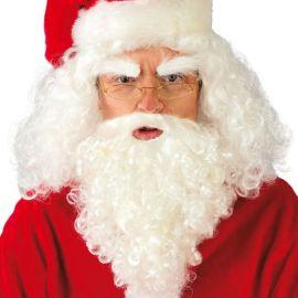 Peluca y Barba de Santa Claus