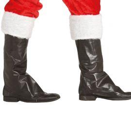 Cubrebotas de Santa Claus Negras