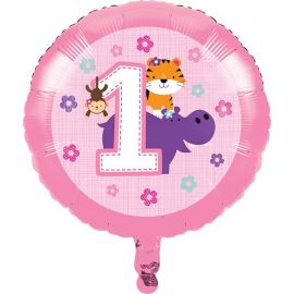 Ballons One is Fun Fille 45 cm