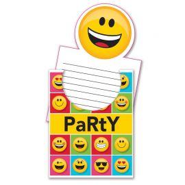 8 Invitations Emoticones