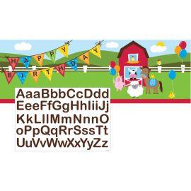 Banner Personalizable Farmhouse