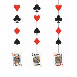 3 Colgantes Casino 91 cm
