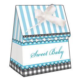 6 Petites Boites Sweet Baby Feet Blue