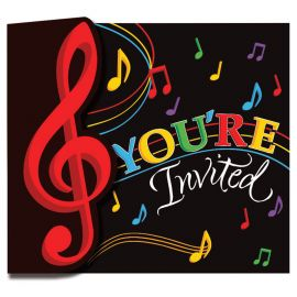 8 Invitations Musique
