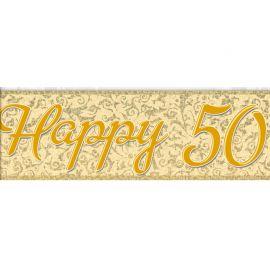 Pancarte 50ème Anniversaire de Mariage
