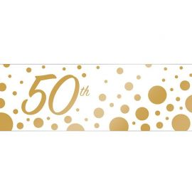 Banner 50 Aniversario 50.8 x 152 cm