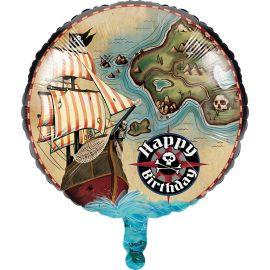 Ballon Carte au Pirate 45 cm