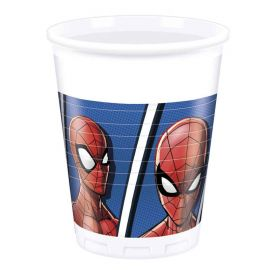 8 gobelets Spiderman 200 mL