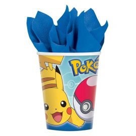 8 Gobelets Pokémon 266 mL