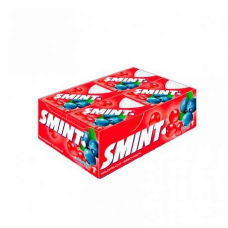 Boîte de Smint aux Fruits Sauvage 12 Unités