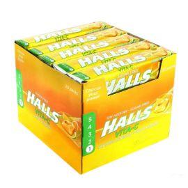 Boîte de Bonbons Halls Agrumes sans Sucre 20 Unités