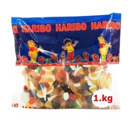 Variété de Bonbons Piquants Haribo 1kg