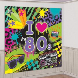 "Décor ""I Love 80's"""