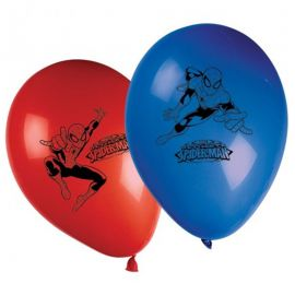 8 Ballons Spiderman 28 cm