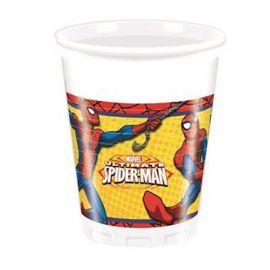 8 Vasos Spiderman Ultimate