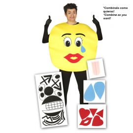 Déguisement d'Emoji pour Hommes en Pièces