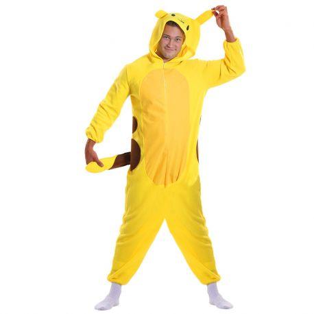 Déguisement Pyjama de Pikachu pour Adulte