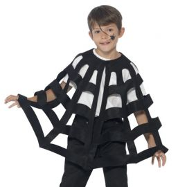 Cape en toile d'araignée pour enfant