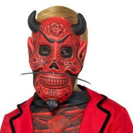 """Masque de démon de la """"Día de los Muertos"""""""