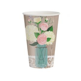 8 Vasos Rustic Wedding