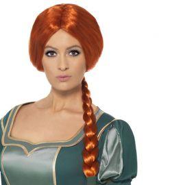 Perruque de la Princesse Fiona de Shrek