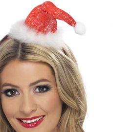 Mini Bonnet de Noel avec Bandeau